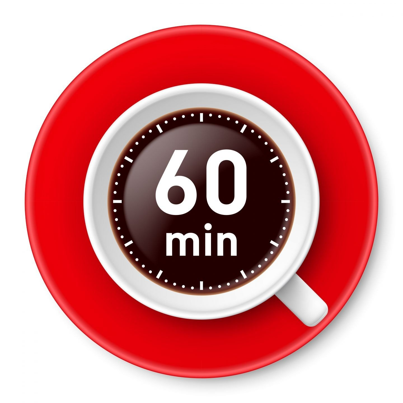 60 minutes clock