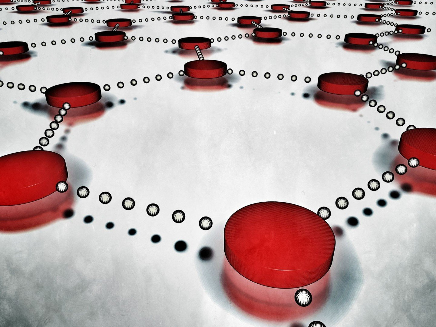 dots connecting