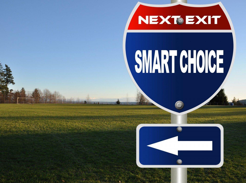 smart choice sign